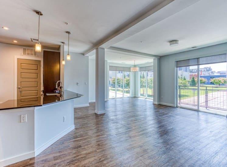 Hardwood Floors at Carroll at Bellemeade, North Carolina, 27401