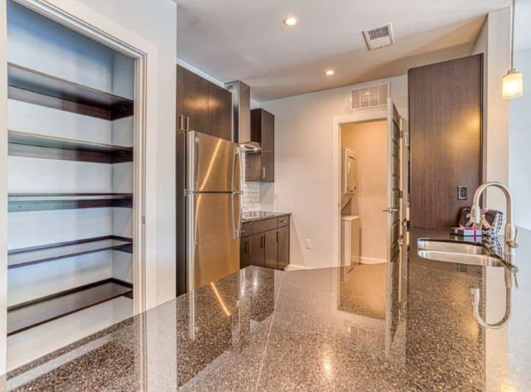 kitchen cabinets at Carroll at Bellemeade, Greensboro, NC