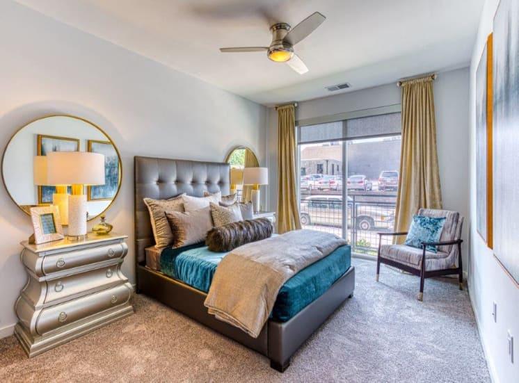 Spacious Bedrooms at Carroll at Bellemeade, Greensboro, NC 27401