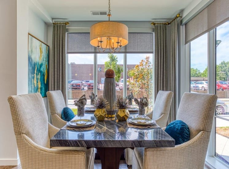 Defined Dining Space at Carroll at Bellemeade, Greensboro, NC 27401