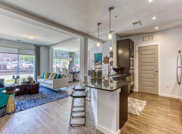 Open Floor Plan at Carroll at Bellemeade, Greensboro, NC 27401