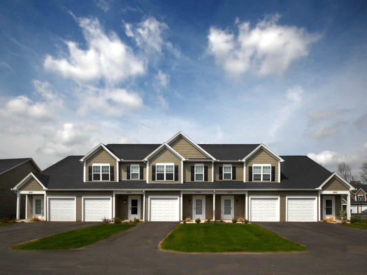 Garage - Phase II Only at Collett Woods Townhouses, New York, 14425