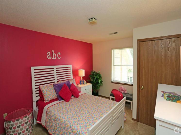 Lavish Bedroom at Deer Run Apartments, Brown Deer, WI
