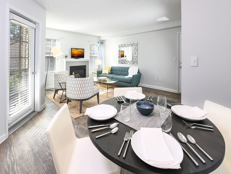 Spacious Dining/Hallway at Verdant Apartment Homes, Boulder, CO, 80303