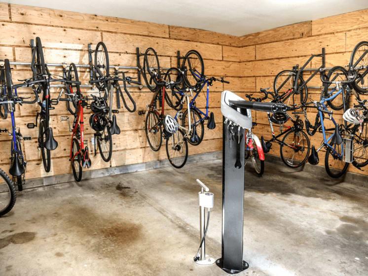 Bike Storage Facility at Verdant Apartment Homes, Boulder, 80303