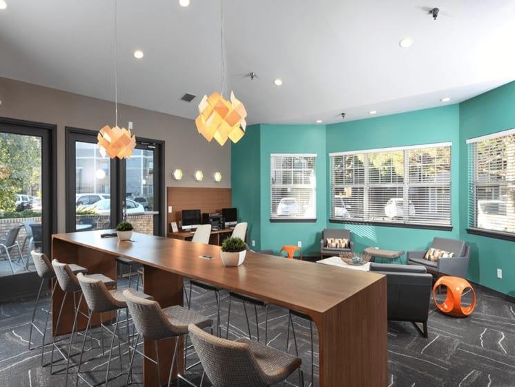 Multi-Purpose Community Room at Verdant Apartment Homes, Colorado
