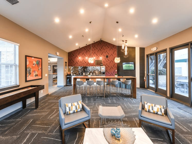 24/7 Resident Clubhouse at Verdant Apartment Homes, Boulder, CO, 80303