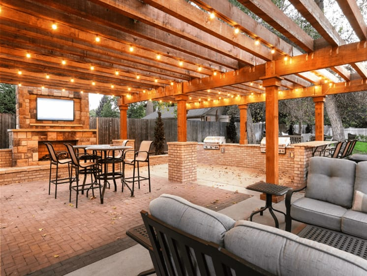 Picturesque Cabana Setting at Verdant Apartment Homes, Boulder, CO