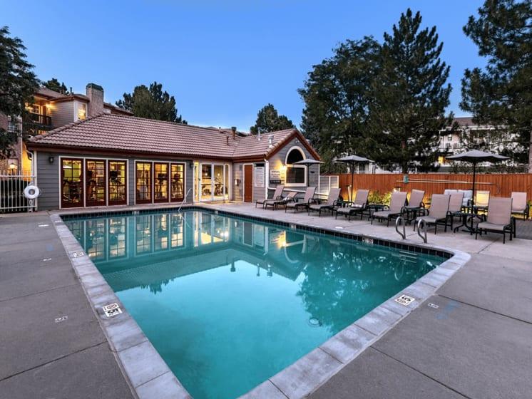 Sparkling Swimming Pool at Verdant Apartment Homes, Boulder, Colorado