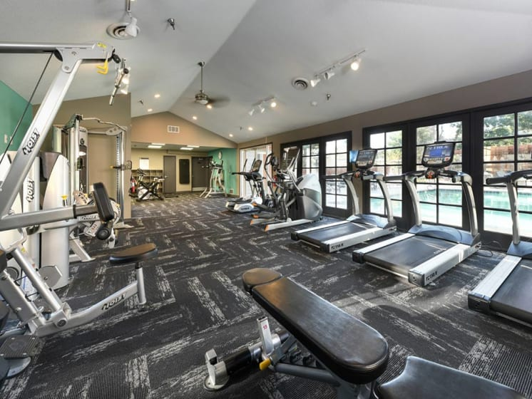 High-Tech Fitness Center at Verdant Apartment Homes, Boulder, CO