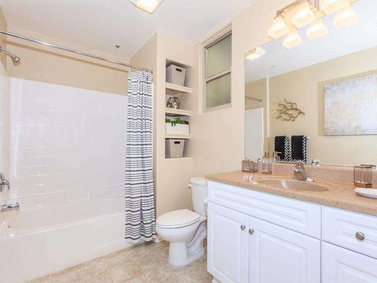 Spacious Bathroom at Meridian Place, Northridge, CA, 91324