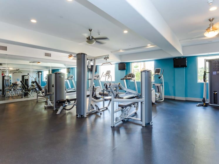 Fully Equipped Fitness Center at Meridian Place, California, 91324