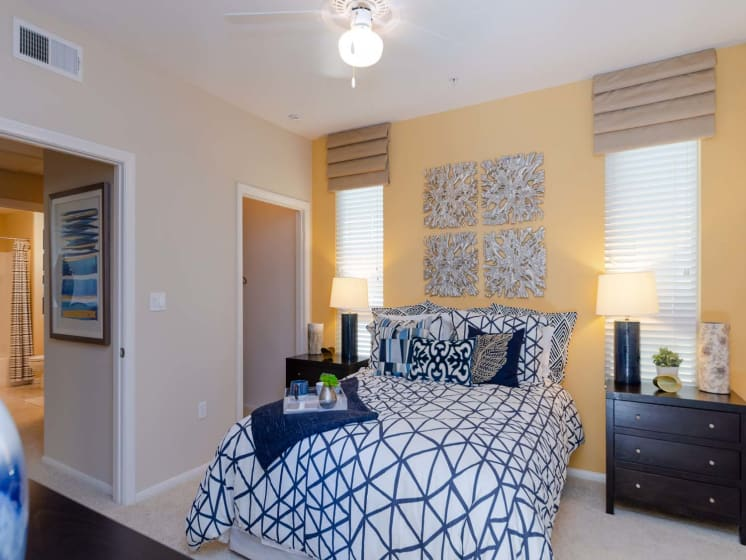 Spacious Bedrooms at Meridian Place, Northridge