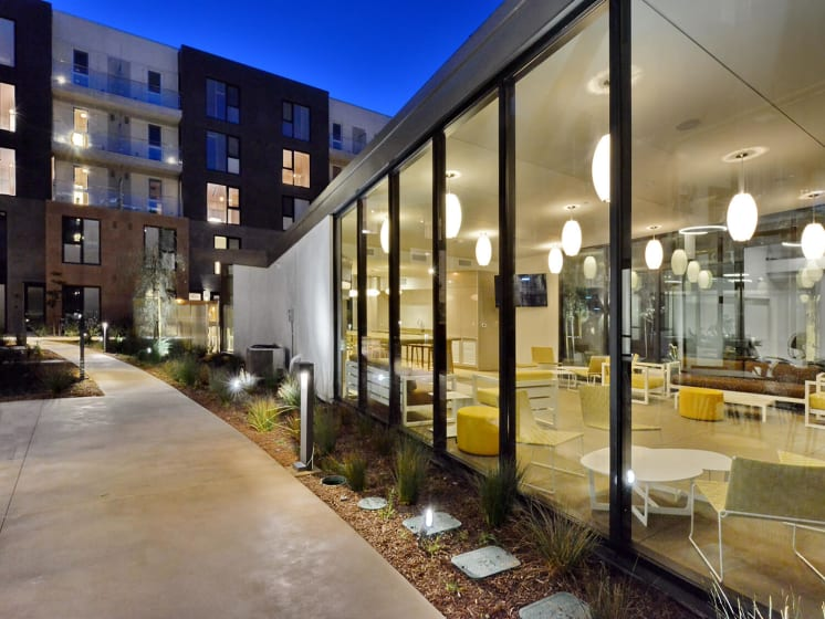 Resident Lounge Area at Block C, San Marcos