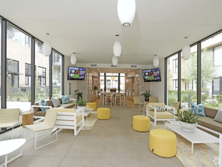 Resident Lounge with 60 at Block C, California, 92078