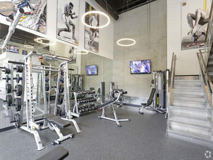 Fitness Center at Block C, California, 92078
