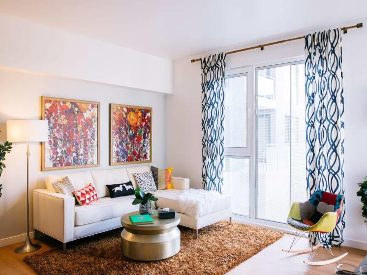 Modern Style Living Room at Block C, San Marcos, CA, 92078