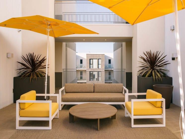 Marvelous Sofa-Sets With Umbrella at Block C, San Marcos, California