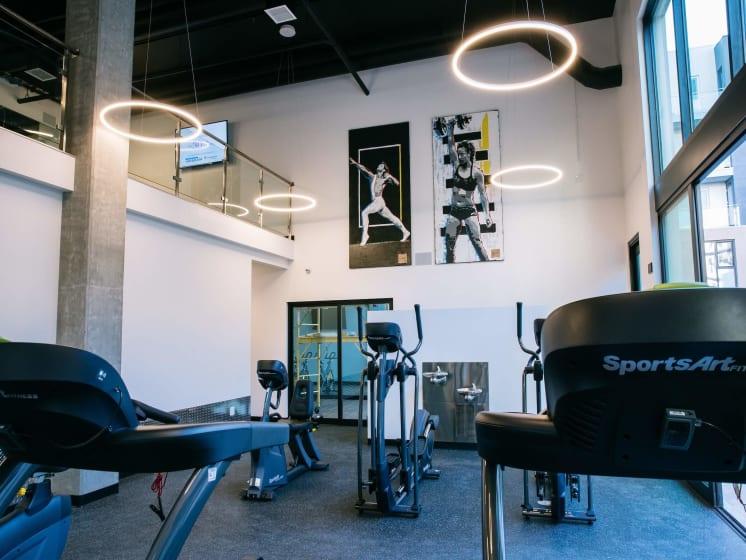Cutting Edge Fitness Center at Block C, California