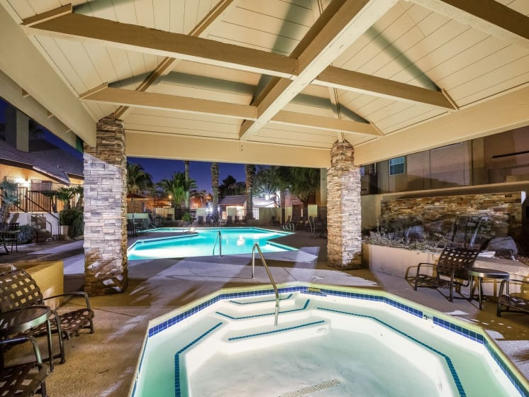 Spa/Jacuzzi On Site at Village at Desert Lakes, Nevada