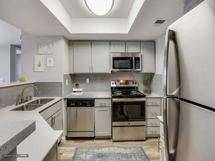 Fully Equipped Kitchen at Village at Desert Lakes, Nevada