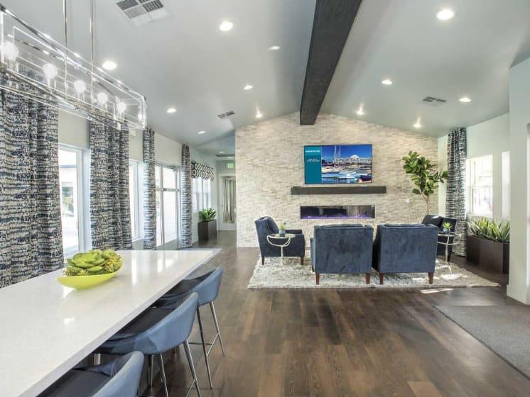 Spacious, comfortable living areas at Marina Village, Sparks, NV, 89434