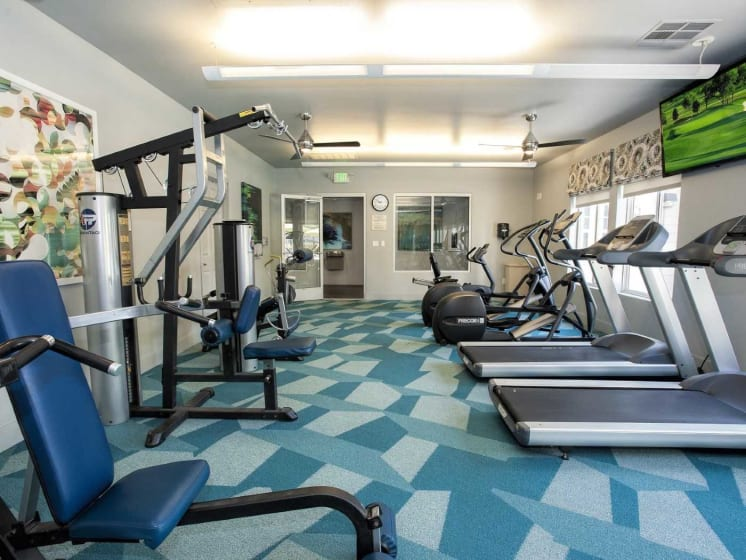 Club-Quality Fitness Center at Marina Village, Nevada