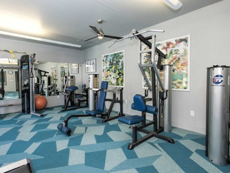 State Of The Art Fitness Facility at Marina Village, Sparks, NV
