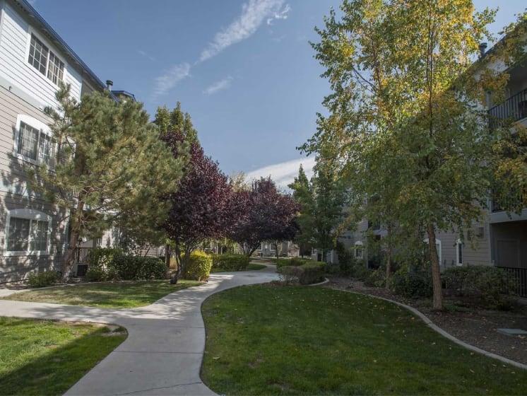 Green-space Walking Trails at Marina Village, Nevada