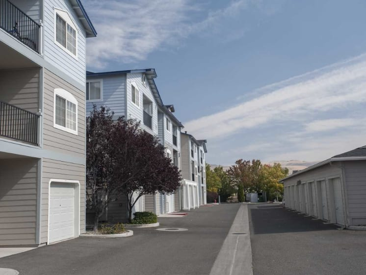 Off Street Parking Facility With Garages at Marina Village, Sparks, 89434