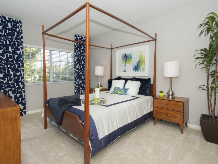 Well Appointed Bedroom at Marina Village, Sparks