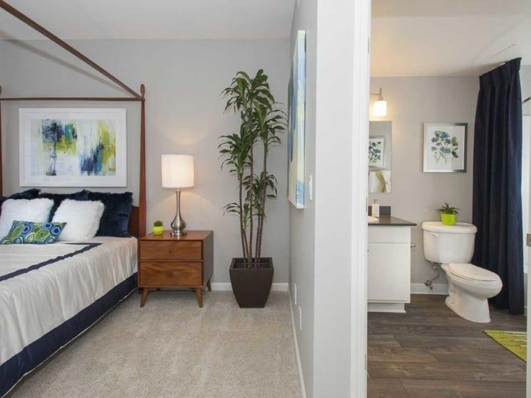 Private Baths next to Bedroom at Marina Village, Nevada, 89434