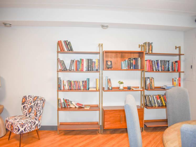 Reading Room at Walnut Crossings, Pennsylvania