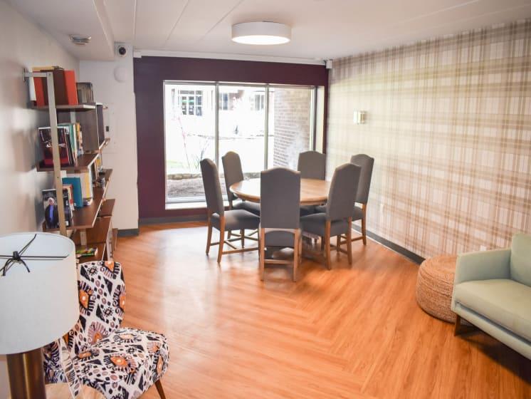 Cozy Reading Room at Walnut Crossings, Monroeville, Pennsylvania