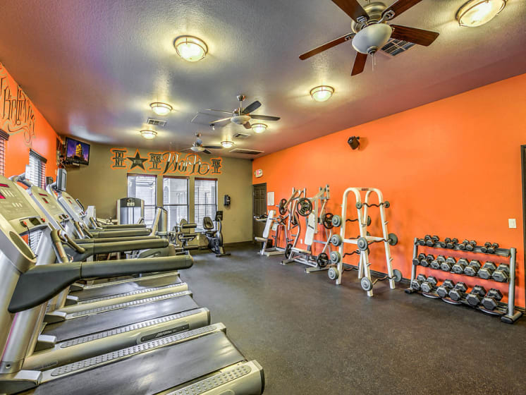 Copper Creek Apartments Fitness Center