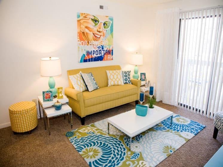 Living Room With Plenty Of Natural Lights at Fox Run, Dayton, OH