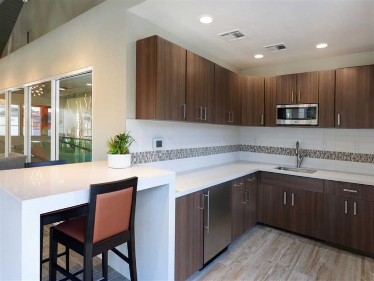 Eat-in Kitchens at The Verandas Apartments, West Covina, CA