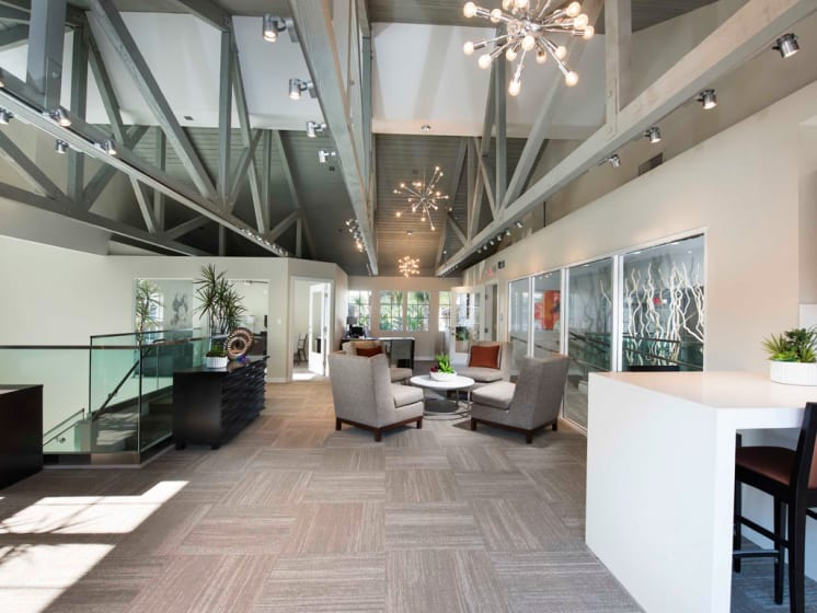 Clubhouse with Upgraded Interiors  at The Verandas Apartments, West Covina, 91791