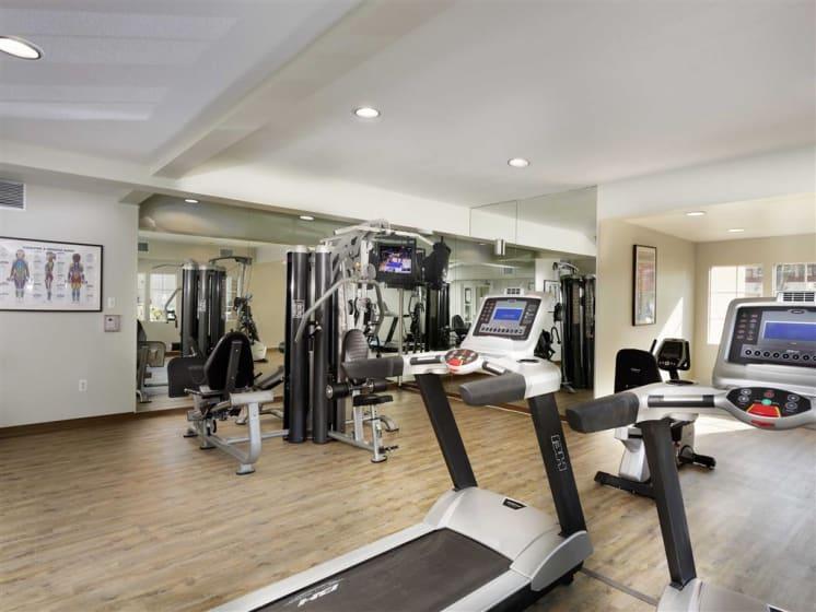 Cardio Equipment at The Verandas Apartments, West Covina, 91791