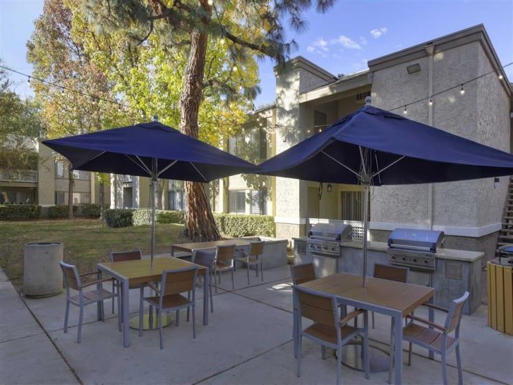 Grilling Station at The Verandas Apartments, California, 91791