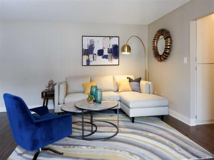 Designer Light Fixtures at The Verandas Apartments, West Covina, CA