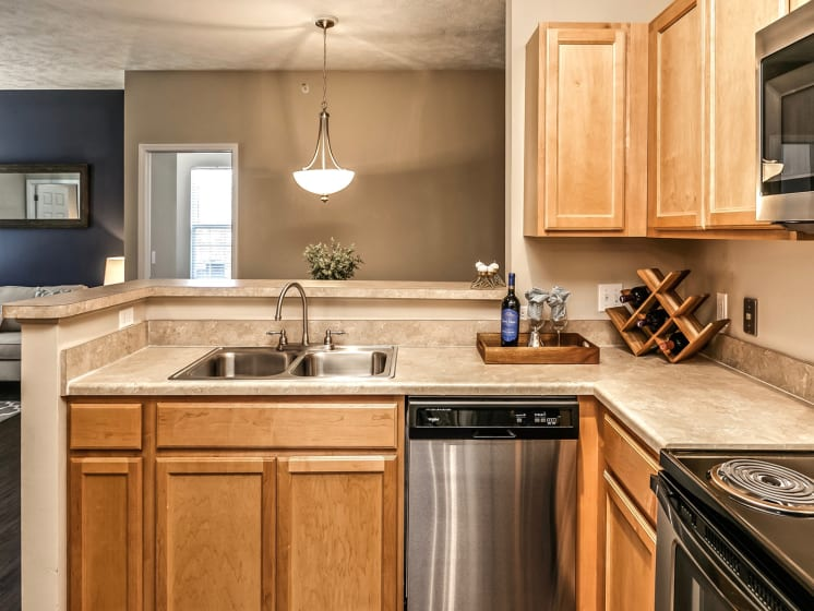 Efficient Appliance Package Available at Landings Apartments, The, Bellevue, NE, 68123