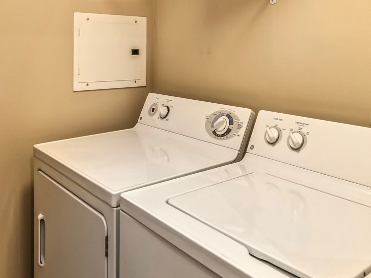 Full-Size Washers and Dryers at Landings Apartments, The, Bellevue, 68123