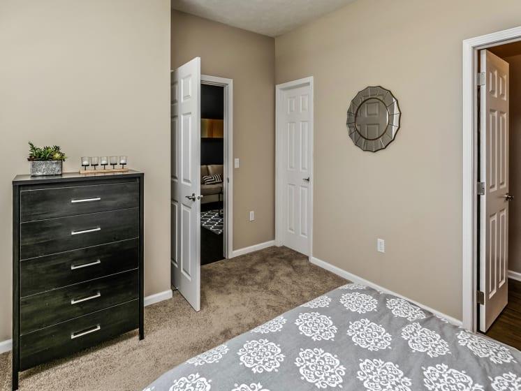 King-Sized Bedrooms at Landings Apartments, The, Nebraska