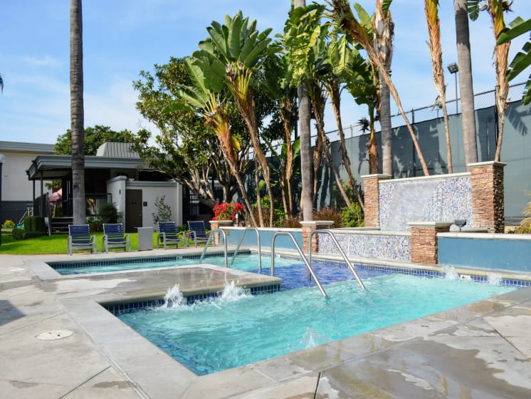 Spa/Hot tub at Madison Park Apartment Homes, California, 92804