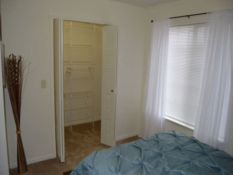 Ample Closets with Storage Space at Stoney Pointe Apartment Homes, Wichita, Kansas