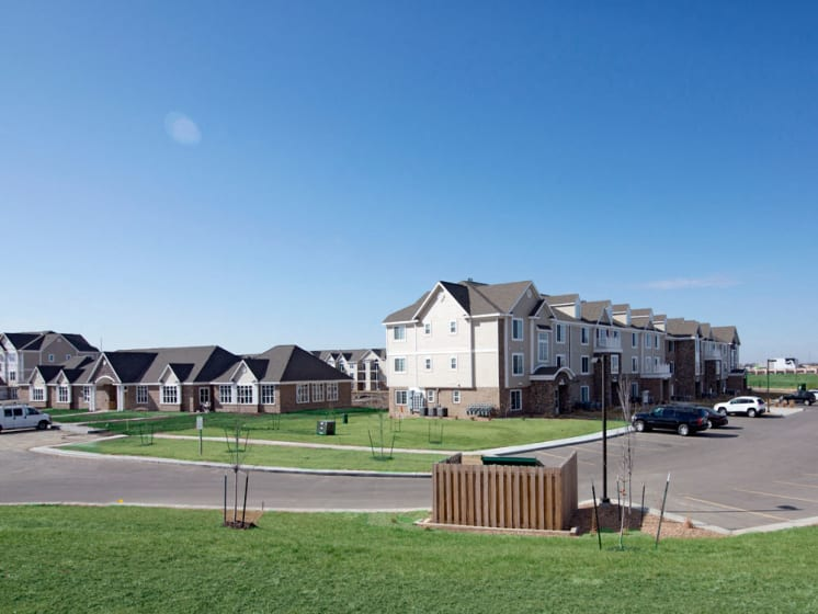 Nature Friendly Surroundings at Stoney Pointe Apartment Homes, Wichita, 67226