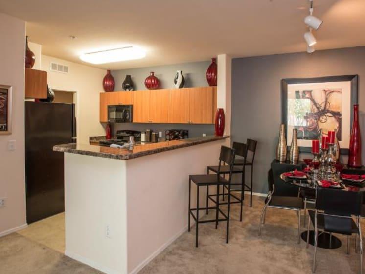 Kitchen at Ascent at Papago Park, Phoenix, Arizona, 85008