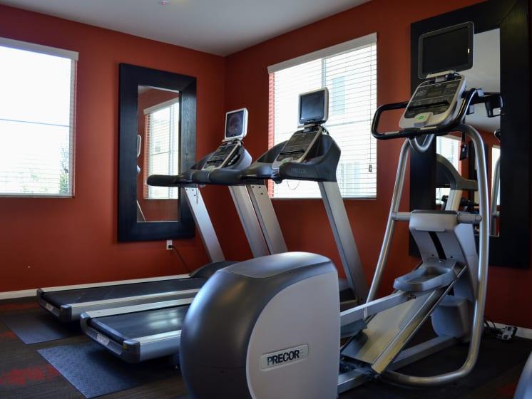 Cardio equipment, at Union Place Apartment Homes, Placentia, CA
