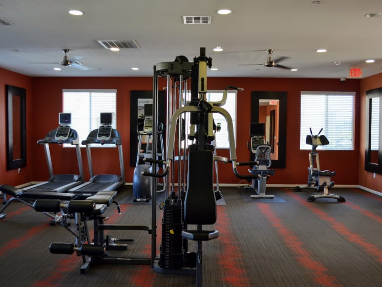 24-hour fitness center, at Union Place Apartment Homes, 1500 Cherry St. Suite 5106A, CA
